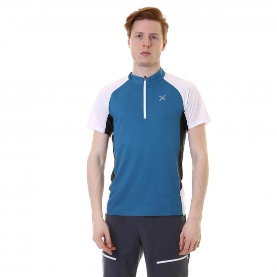 MONTURA OUTDOOR LAND ZIP T-SHIRT