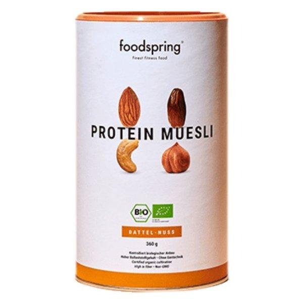 FOODSPRING PROTEICO MUESLI DATES AND NUTS