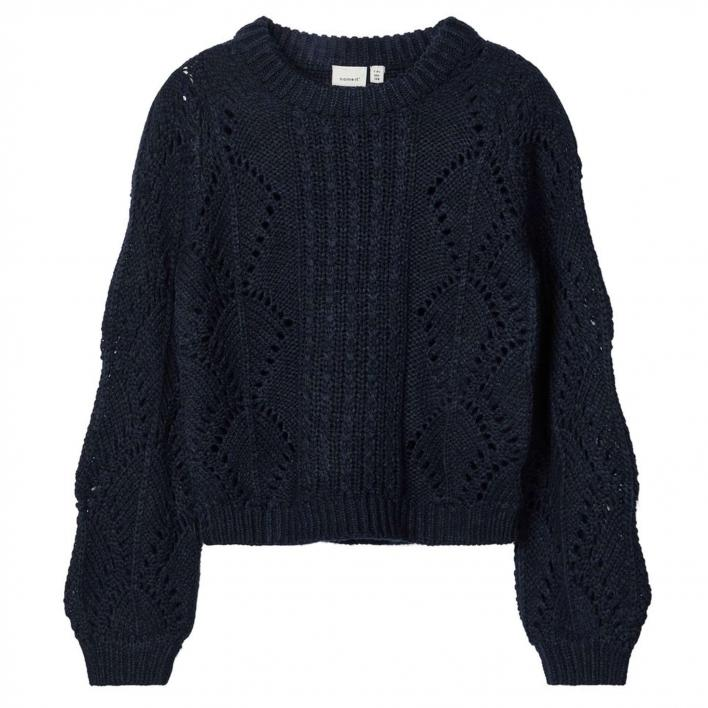 NAME IT NKFNANNIE LS KNIT CAMP