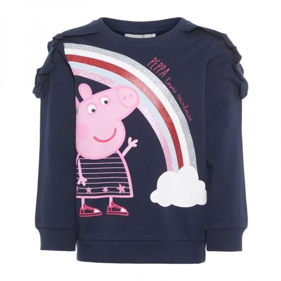 NAME IT PEPPAPIG MARIE SWEAT UNB BOX LIC