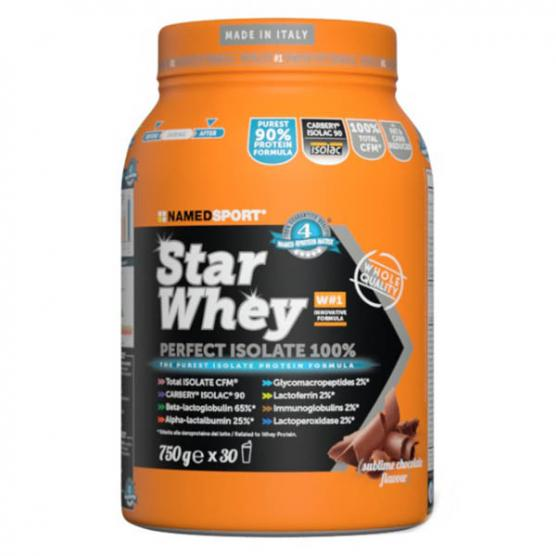 NAMEDSPORT Star Whey Isolate Sublime Chocolate 750g