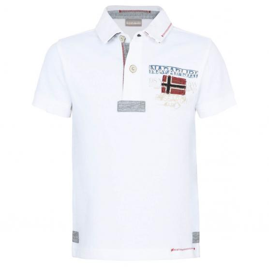NAPAPIJRI K ESTA BRIGHT WHITE POLO