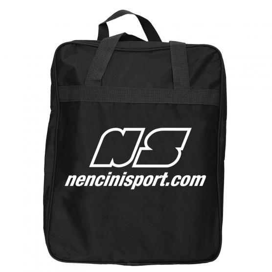 NENCINI SPORTS BAGS BAGS BLACK  WHITE
