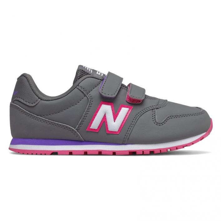 NEW BALANCE 500 GRAY PINK PS