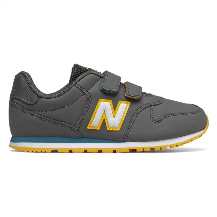 NEW BALANCE 500 GRAY YELLOW PS