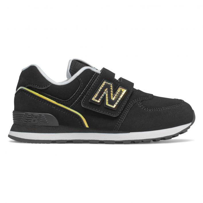 NEW BALANCE 574 BLACK PS