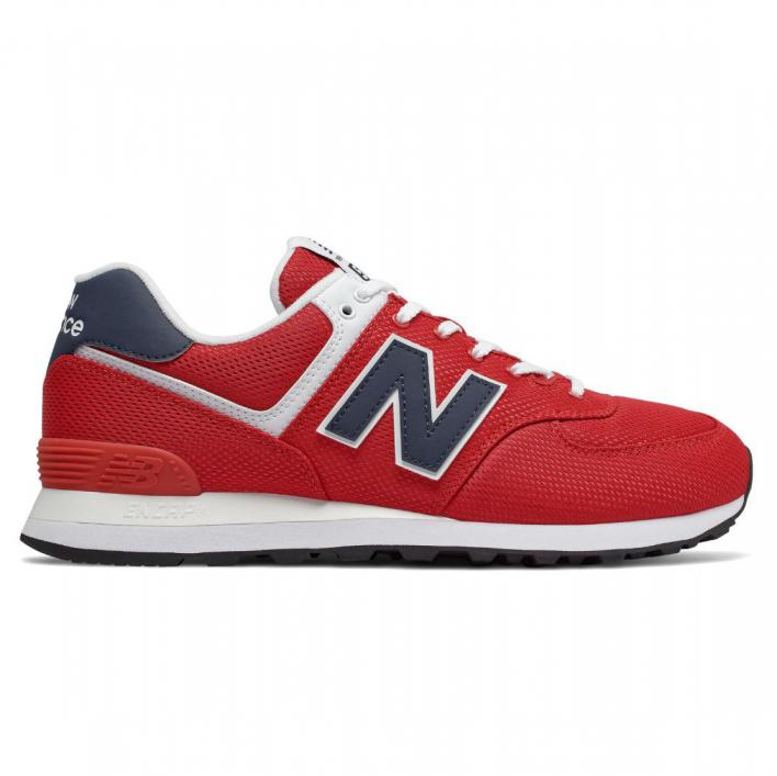NEW BALANCE 574 RED / NAVY