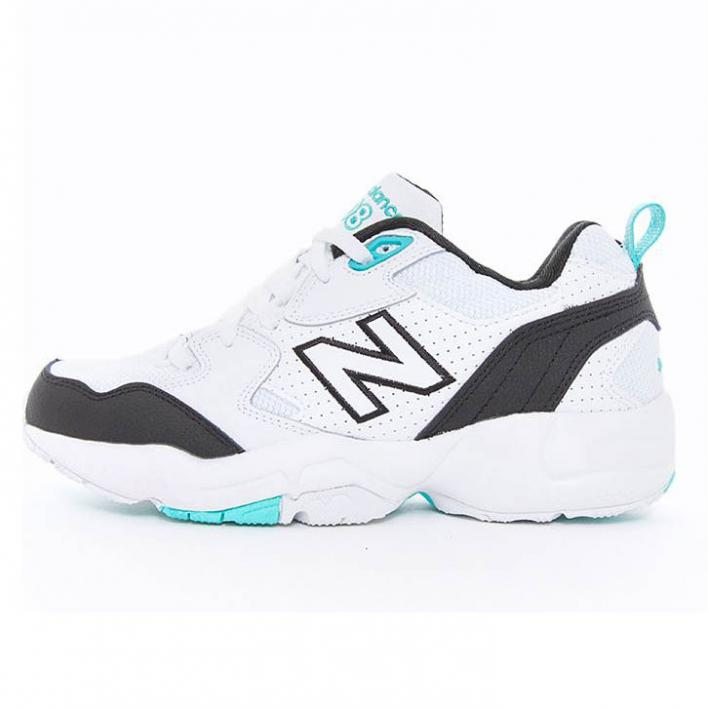 NEW BALANCE 708 WHITE/BLACK