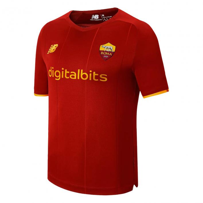 NEW BALANCE AS ROMA HOME SS JERSEY