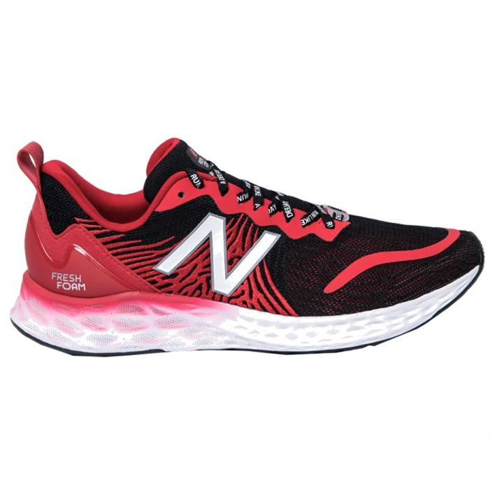 NEW BALANCE TEMPO BLACK/RED DEEJAY TEN