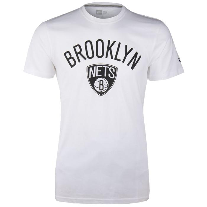 NEW ERA BROOKLYN NETS TEAM LOGO TEE