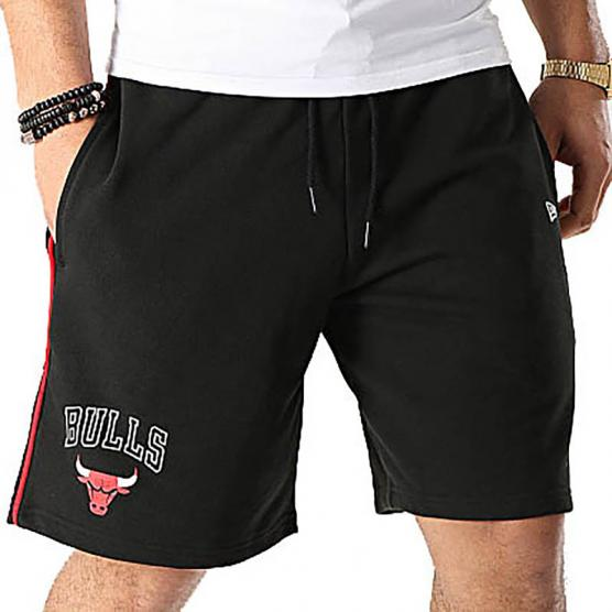 NEW ERA CHICAGO BULLS NBA STRIPE PIPING SHORT 001
