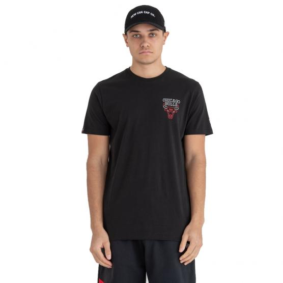 NEW ERA CHICAGO BULLS NEON LIGHTS TEE 001
