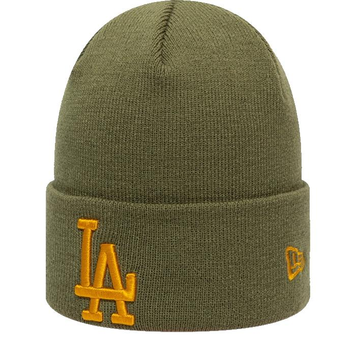 NEW ERA LOS ANGELES DODGER TEAM OUT LINE CUFF KNIT