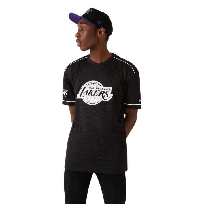 NEW ERA LOS ANGELES LAKERS OVERSIZE TEE