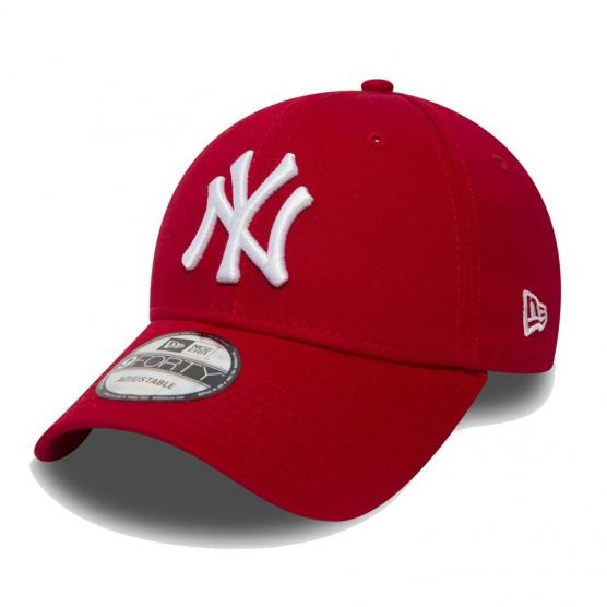 NEW ERA NEW YORK YANKEES RED 940 LEAGUE BASIC