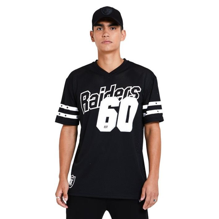 NEW ERA OAKLAND RAIDERS NFL OVERSIZED TEE