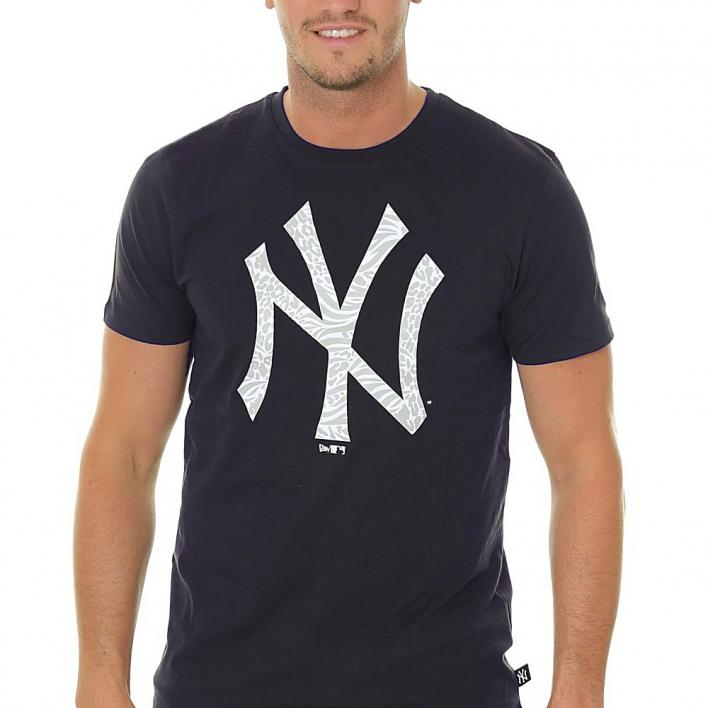 NEW ERA PRINT INFILL TEE NEW YORK YANKEES