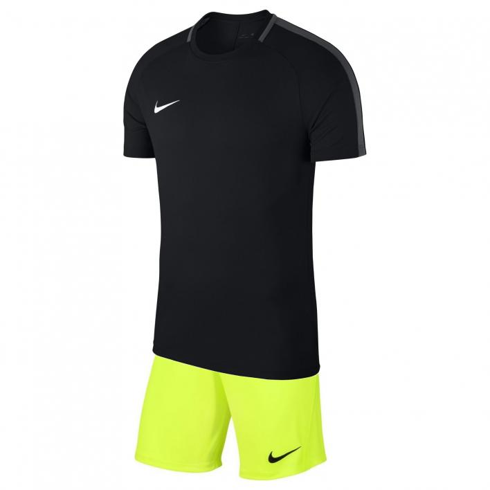 NIKE DRI-FIT ACADEMY KIT BLACK/FLUO YELLOW