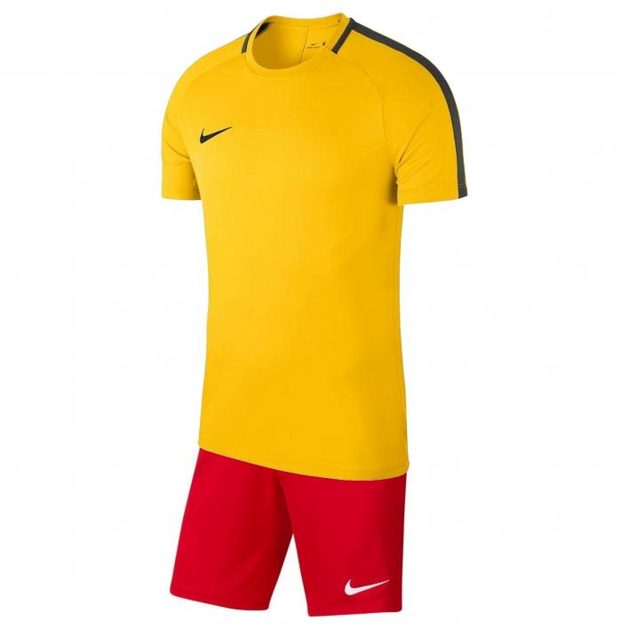 NIKE DRI-FIT ACADEMY KIT YELLO/RED