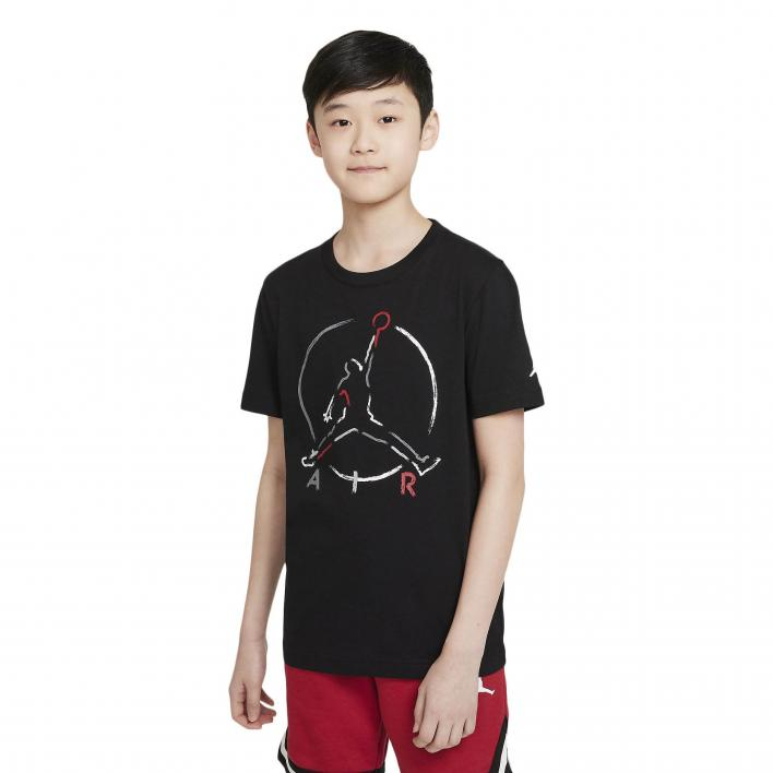 NIKE JORDAN JR AIR SS GRAPHIC T-SHIRT
