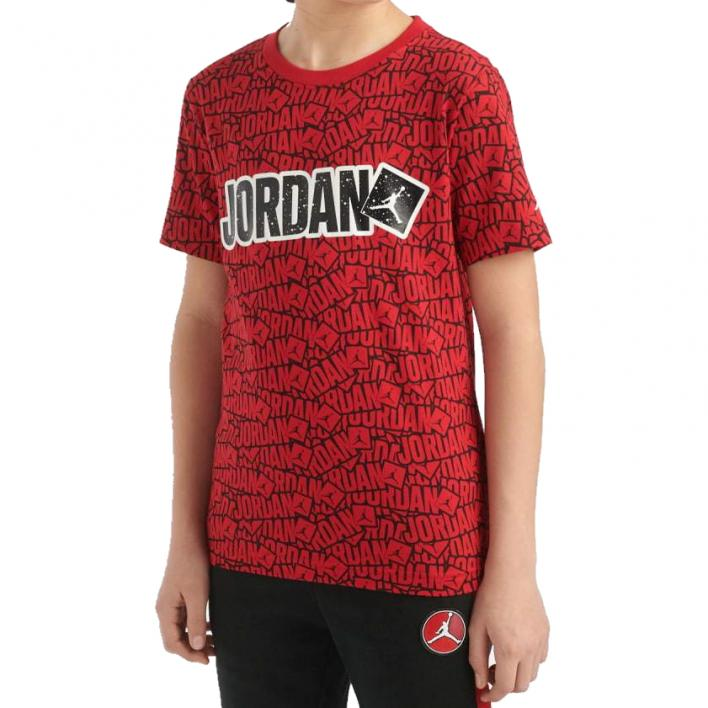 NIKE JORDAN STICKER TEE R78 JUNIOR