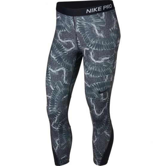 NIKE W NP CROP PRT CHAIN FEATHER