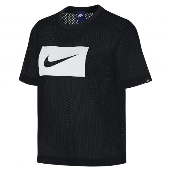 8d018d10533a72 Outlet NIKE W NSW TOP SWSH MESH