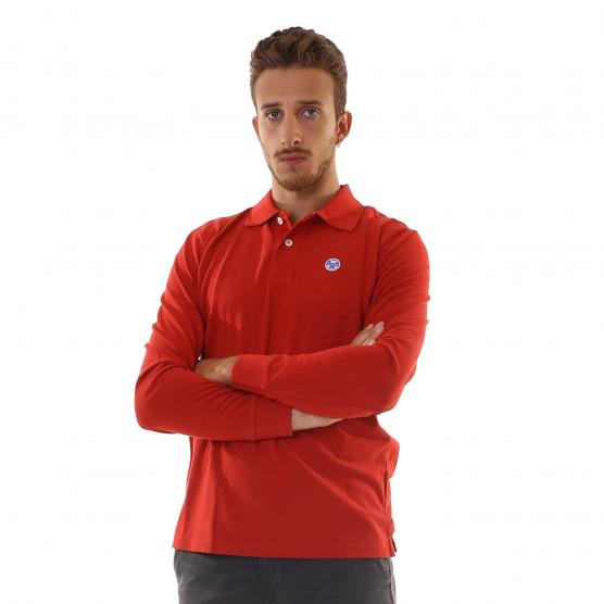 NORTH SAILS POLO L/S W/LOGO 0241