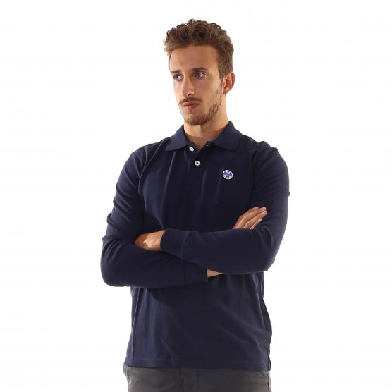 NORTH SAILS POLO L/S W/LOGO 0802