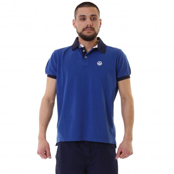 NORTH SAILS POLO S/S W/PATCH 0043