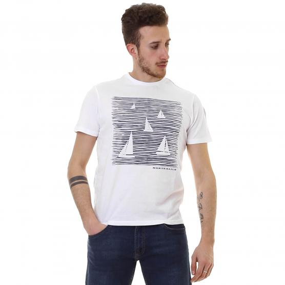 NORTH SAILS T-SHIRT S/S W/GRAPHIC