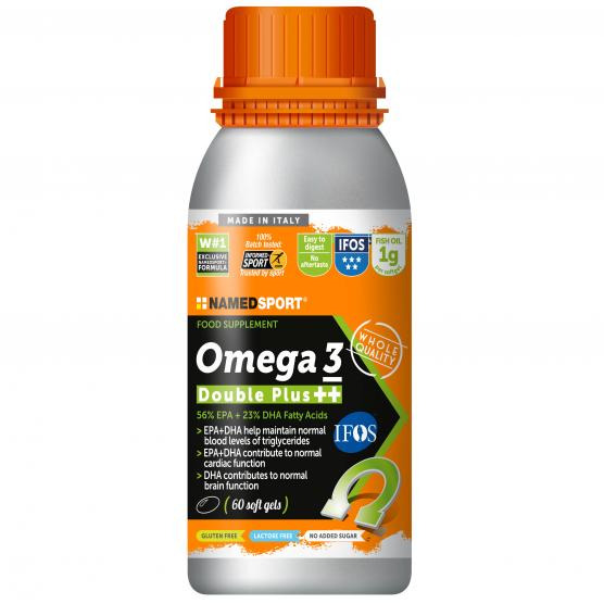 NAMEDSPORT Omega 3 Double Plus 60 Softgel