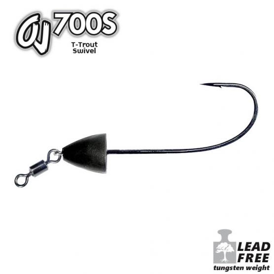 OMTD T TROUT SWIVEL OJ700S MIS. 1/0
