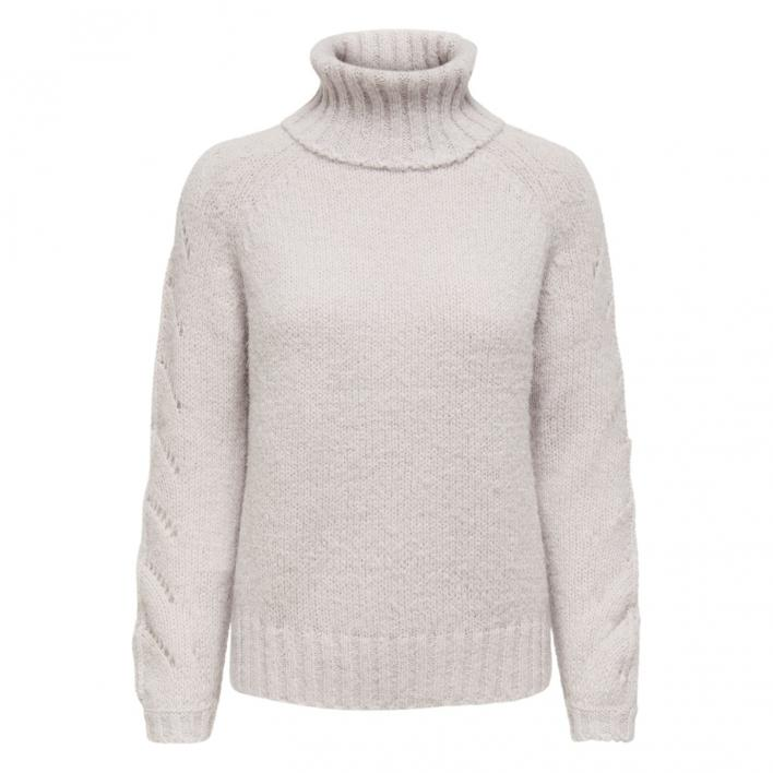 ONLY ALYSSA L/S LIFE ROLLNECK PULLOVER KNT