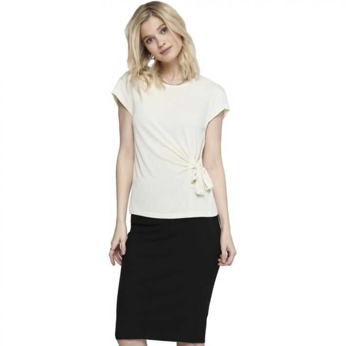 ONLY AMANDA LIFE S/S BOW TOP JRS