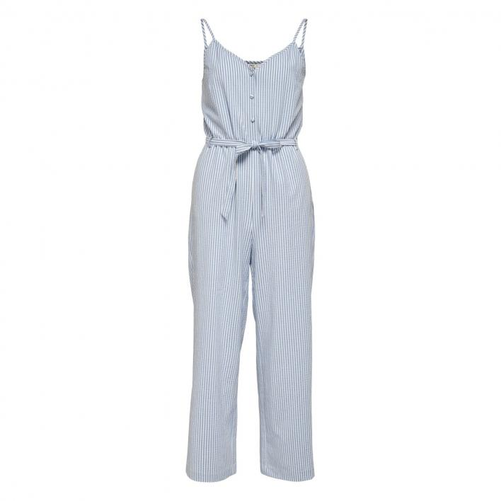 ONLY BETTI LIFE STRAP STRIPE JUMPSUIT PNT