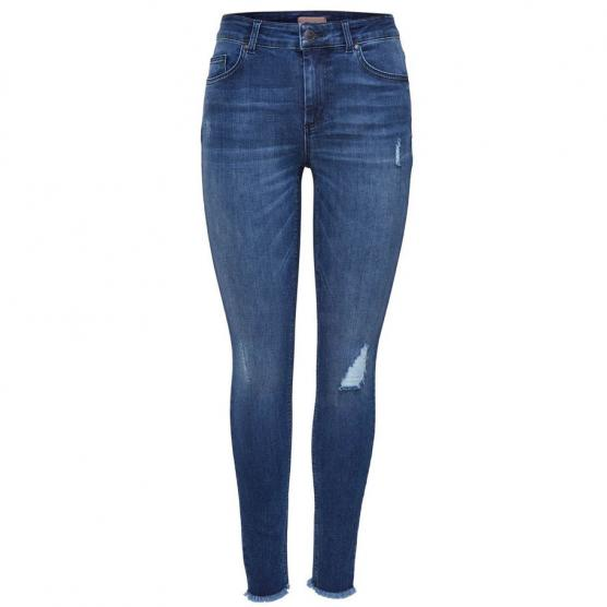 ONLY BLUSH MID ANK RAW JEANS REA2077 NOOS