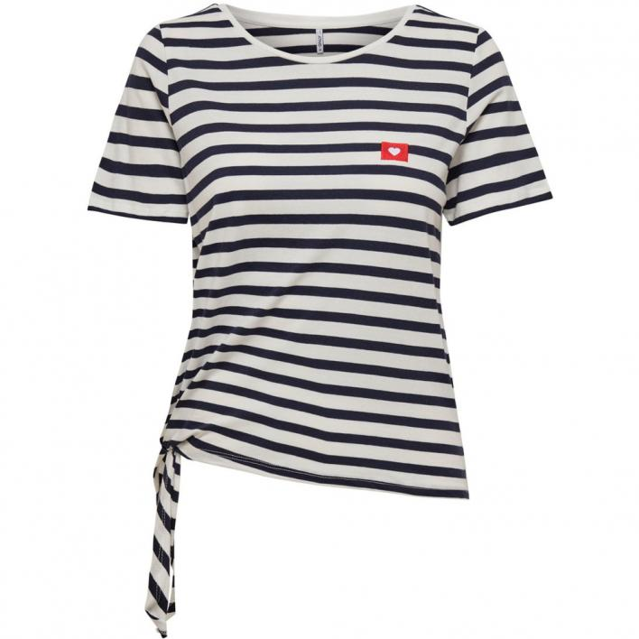 ONLY BRAVE LIFE S/S KNOT TOP JRS
