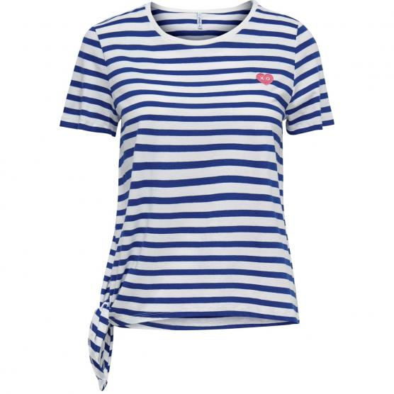 ONLY BRAVE S/S KNOT TOP JRS