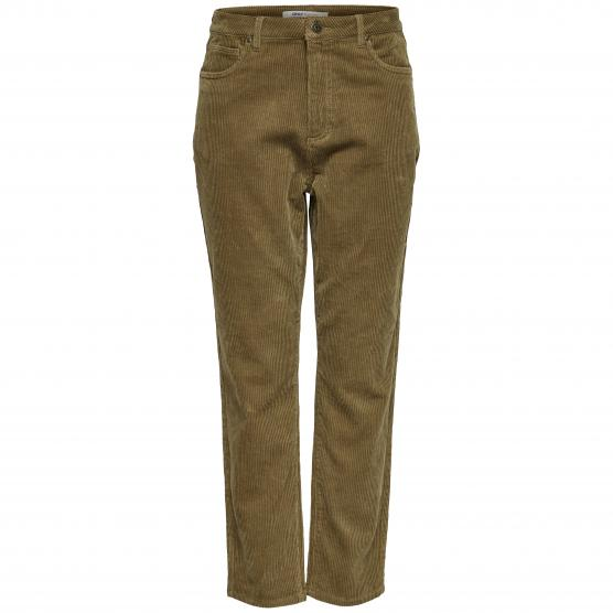 ONLY DAWN HW STRAIGHT CORD PANT