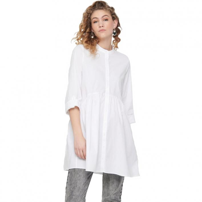 ONLY DITTE LIFE 3/4 SHIRT DRESS