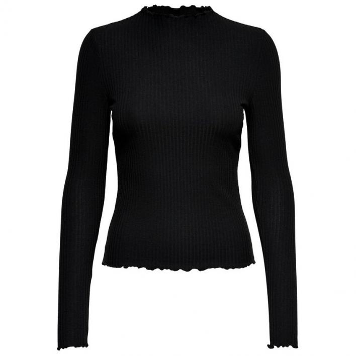ONLY EMMA L/S HIGH NECK TOP NOOS JRS