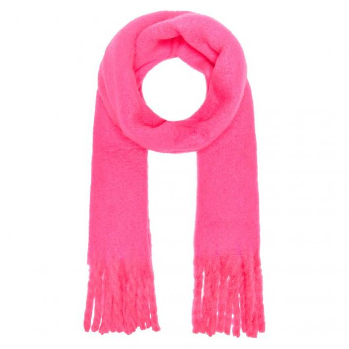 ONLY EMMA SOLID HEAVY BRUSHED WOVEN SCARF