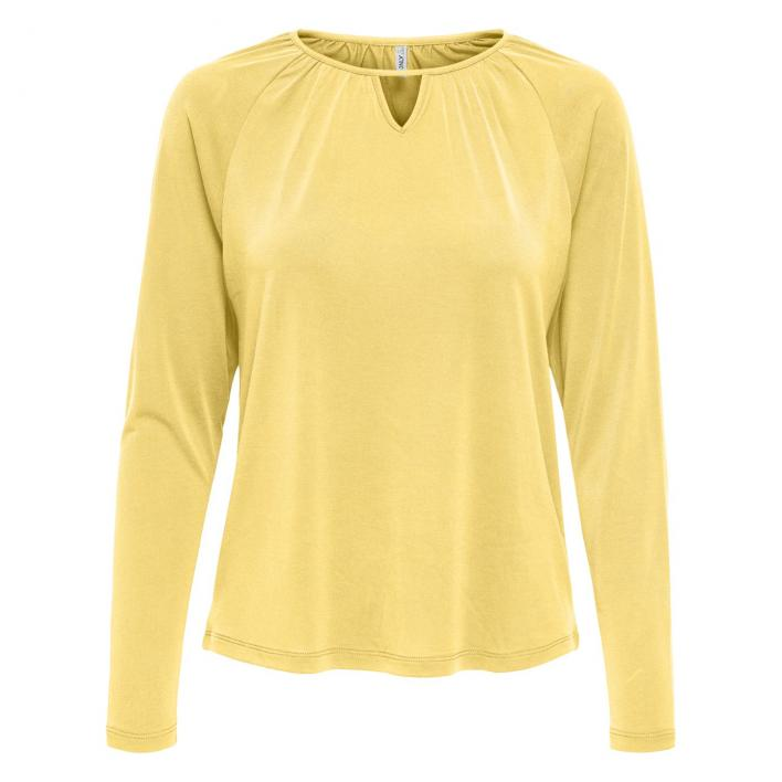 ONLY FREE LIFE L/S PLACKET TOP JRS