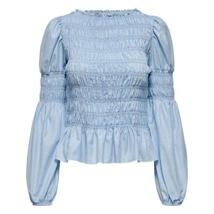 ONLY GWENDA L/S TOP WVN CASHMERE