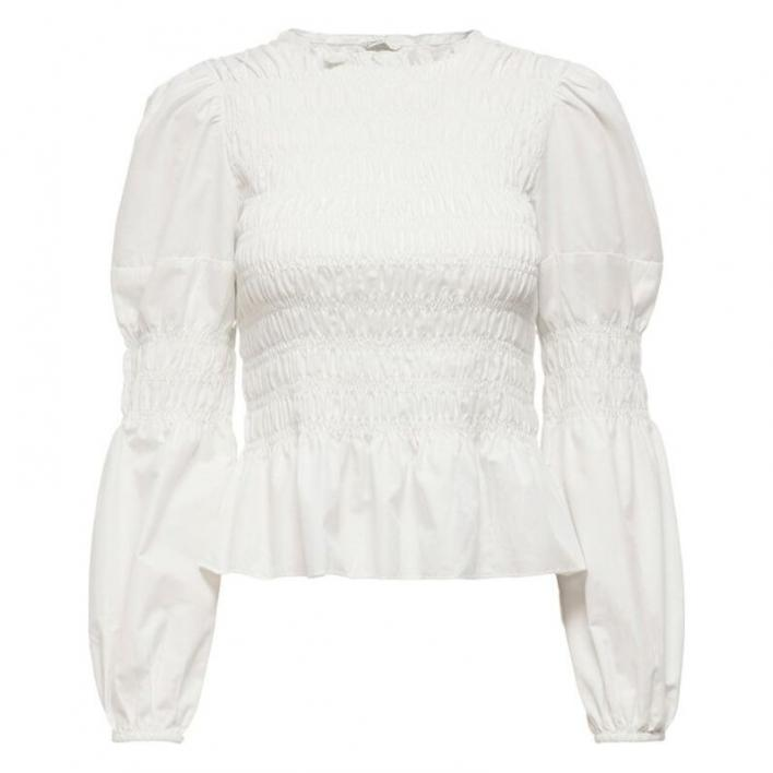 ONLY GWENDA L/S TOP WVN