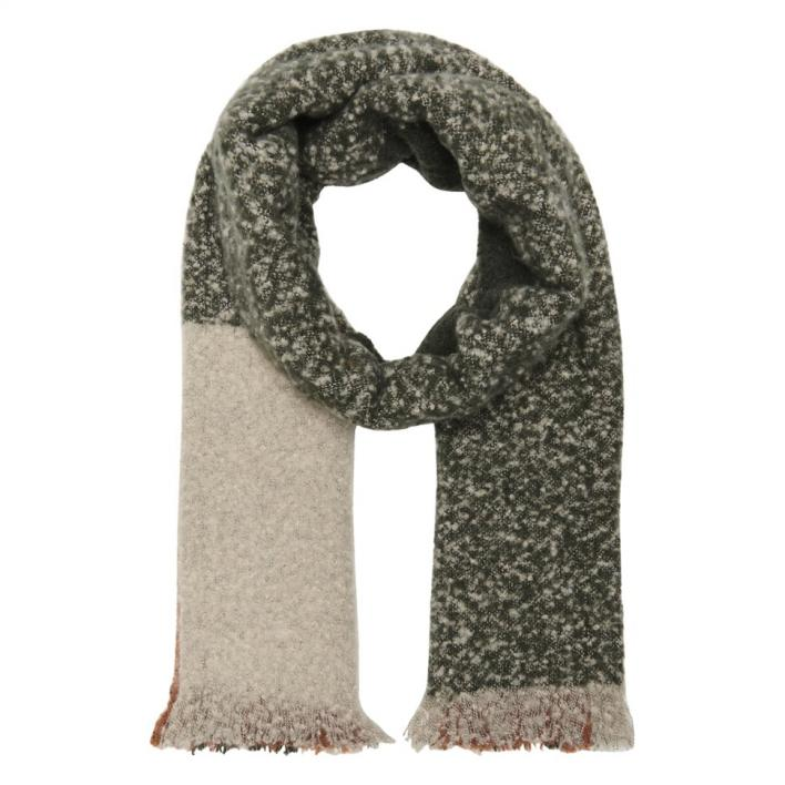 ONLY JANET COLOUR BLOCK SCARF