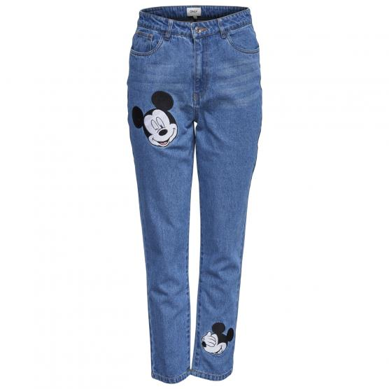 ONLY KELLY MOM MICKEY DNM JEANS QYT
