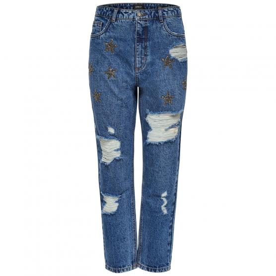 ONLY KELLY STAR MOM DNM JEANS BJ10461